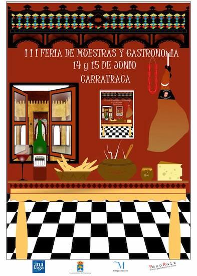 Feria de Muestras y Gastronomía de Carratraca 2014