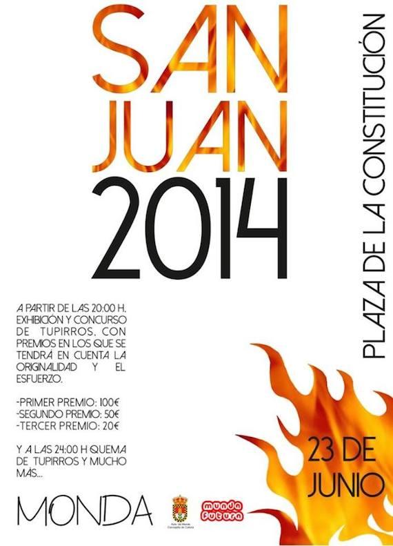 Noche de San Juan 2014 en Monda