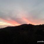 Anochecer en la Barriada Pastelero de Málaga - Noviembre 2014