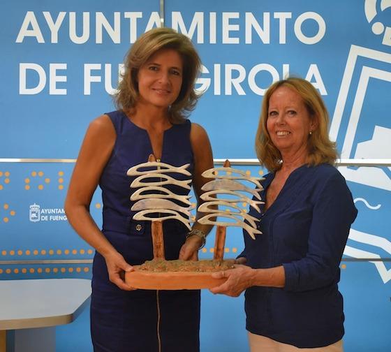 Monumento al espeto de sardinas en Fuengirola
