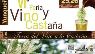 Feria del Vino y la Castaña de Yunquera 2014