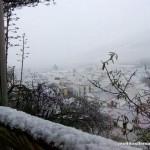 Vista de Alfarnate tras la nevada del Martes 20 de Enero de 2015