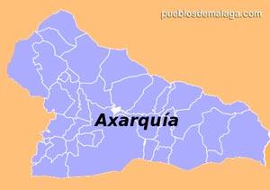 Lista de Pueblos de la Comarca de la Axarquía
