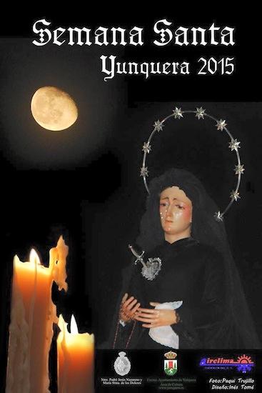 Cartel de la Semana Santa de Yunquera 2015