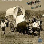 Día de la Yunta y su gañan en Almayate