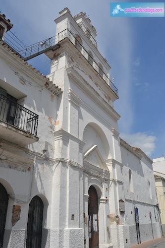 Iglesia de san Andres y antiguo Hospital de la Caridad