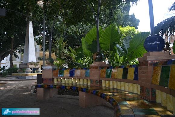 Parque de San Agustín y monumento a los  Caídos