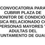 Oferta de empleo en Guaro