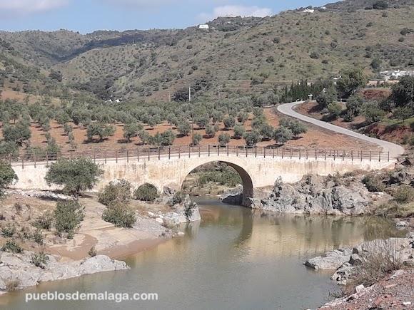 Puente Romano de Almogía en Mayo de 2018