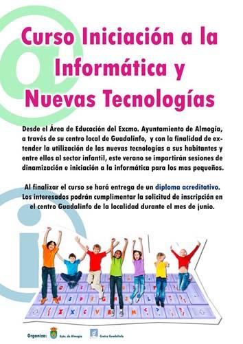 CURSO INICIACIÓN A LA INFORMÁTICA Y NUEVAS TECNOLOGÍAS