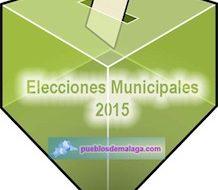 Elecciones Municipales 2015 en los pueblos de Málaga