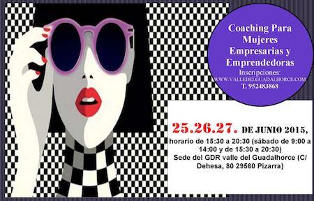 Coaching para mujeres Empresarias y Emprendedoras del Valle del Guadalhorce