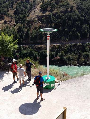 Infosenderos en El Caminito del Rey