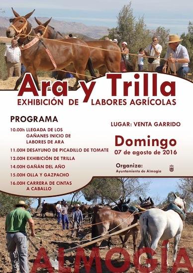 Ara y Trilla Homenaje a los trabajos del campo en Almogía