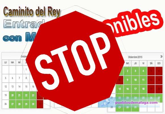 """Suspendida la """"gestión"""" de entradas para el Caminito del Rey por los empresarios de Ardales"""