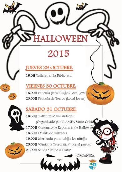 Actividades de Halloween en Algatocin