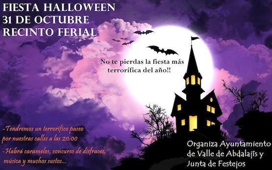 Fiesta Halloween en el Valle de Abdalajis
