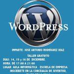 Curso Gratis de Wordpress en Coín