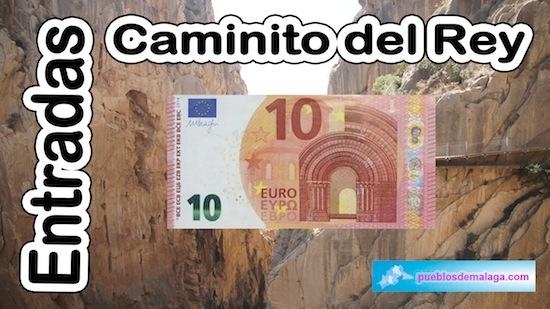 Entradas a 10 euros para el Caminito del Rey