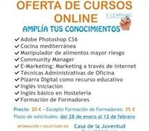 Cursos on line en Antequera