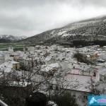 Primeras nieves de 2016 en Alfarnate