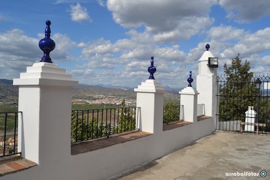 Balcón al Valle del Guadalhorce en la Ermita la Virgen de Cártama