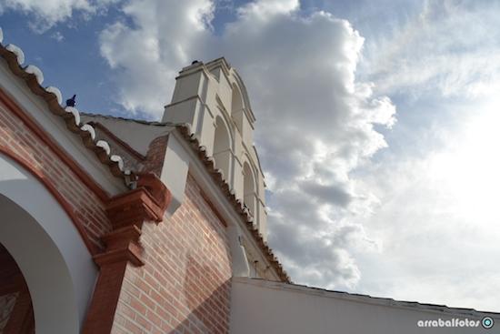 Campanario de la ermita de Cártama