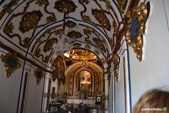 Interior de la Ermita la Virgen de los Remedios de Cártama