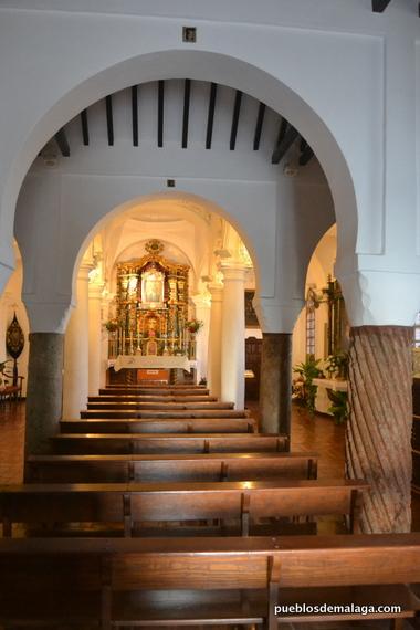 Interior de la Capilla de la Virgen de Gracia de Archidona