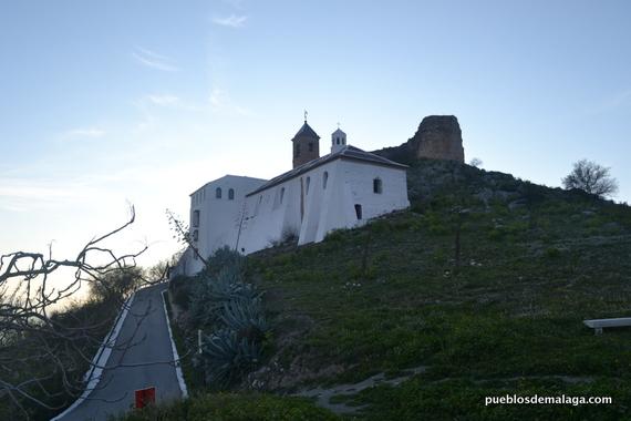 Vista de la Ermita de la Virgen de Gracia