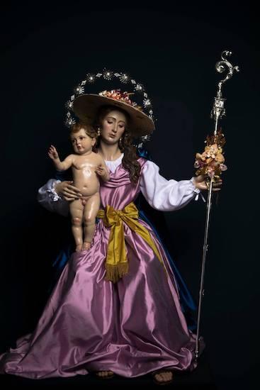 Divina Pastora de las Almas en la Iglesia San Pedro de Cártama