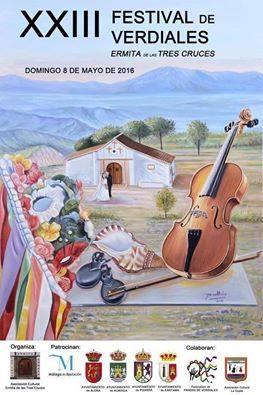 XXIII edición del Festival de Verdiales Ermita de las Tres Cruces.