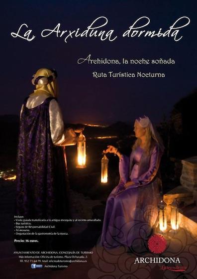 visita guiada nocturna La Arxiduna Dormida