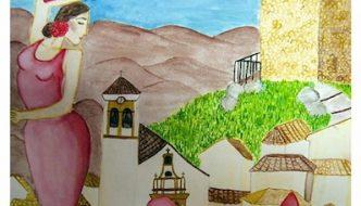 Cartel ganador para la Feria de Agosto de Almogía 2016