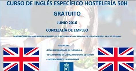Curso gratis de Ingles en Fuengirola