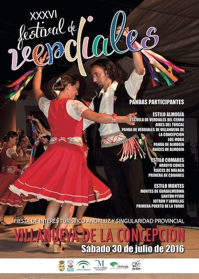 XXXVI Festival de Verdiales de Villanueva de la Concepción
