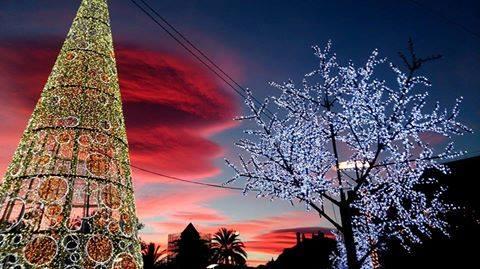 Alumbrado de Navidad Fuengirola 2016