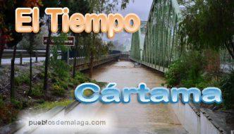 Tiempo previsto por la Agencia Estatal de Meteorología (AEMET) en Cártama
