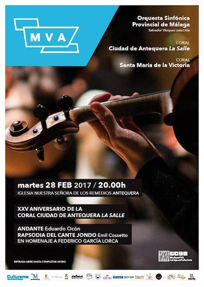 ¿Quieres oír el Andante de Ocon el #DiadeAndalucia en #Antequera interpretado por la Sinfónica de Málaga?