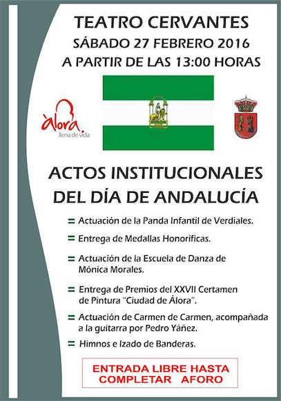 28 de Febrero Día de Andalucía en Álora