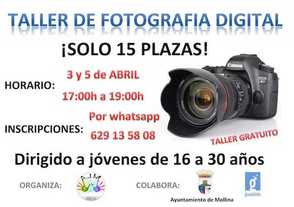 Curso gratis de fotografía en Mollina