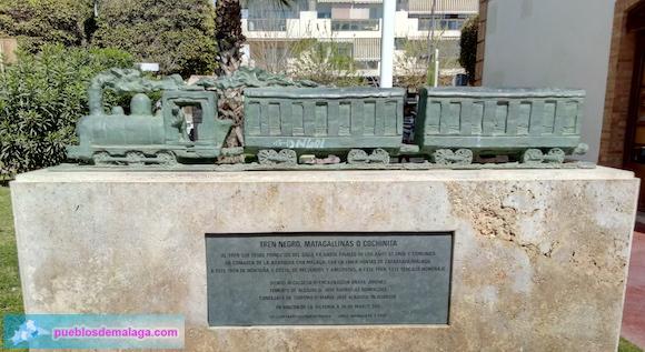 Homenaje al Tren de la Cochinita en Rincón de la Victoria
