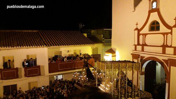 Nuestro Padre Jesús Nazareno en la Semana Santa de Almogía