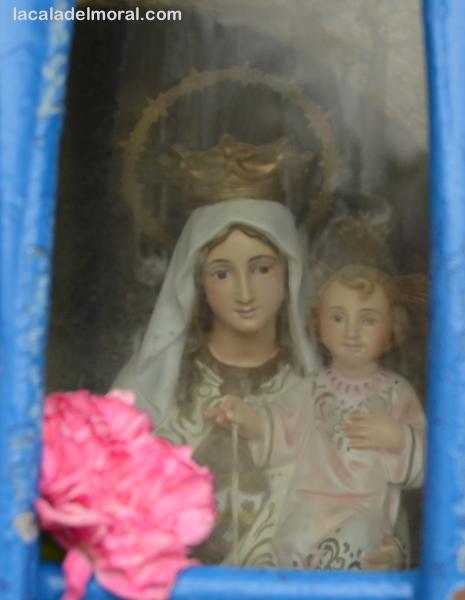 Virgen del Carmen en La Cala del Moral