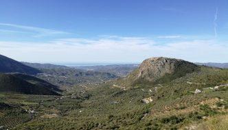 Vista panorámica desde el Mirador El Boquete