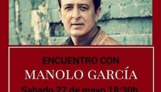 El cantante Manolo García visitará Alhaurín de la Torre