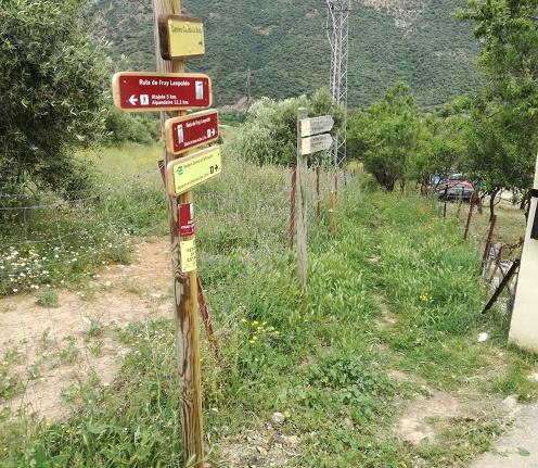 Sendero Ruta Fray Leopoldo