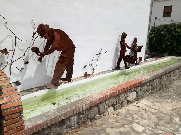 Recogida de uvas en Atajate