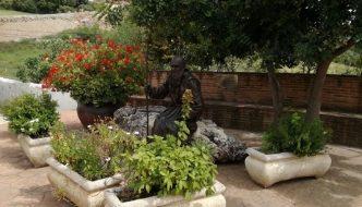 El Beato Fray Leopoldo descansando en su pueblo natal Alpandeire
