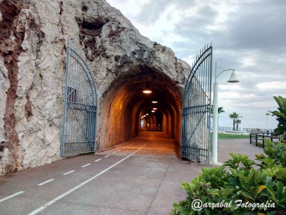 Tunel entre La Cala del Moral y El Rincón de la Victoria